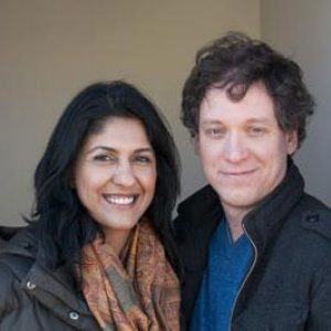 "Sabahat Chaudhary and Marc Reber: From ""not talking at an improv festival"" to married with a toddler"