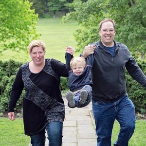 David Barth and Lisa Kays: Troupemates, spouses, and co-parents