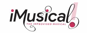 iMusical logo in swirling cursive font